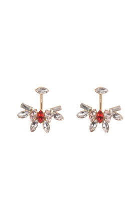 ienne Pink Through & Through Earrings by Johnny Loves Rosie