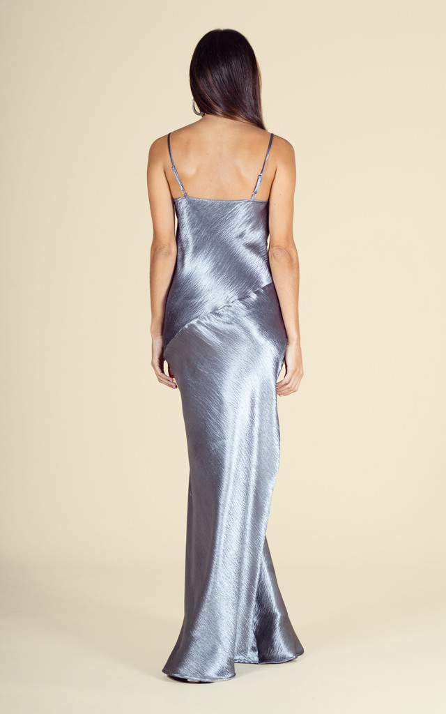 Savannah Maxi in Gunmetal Silver image