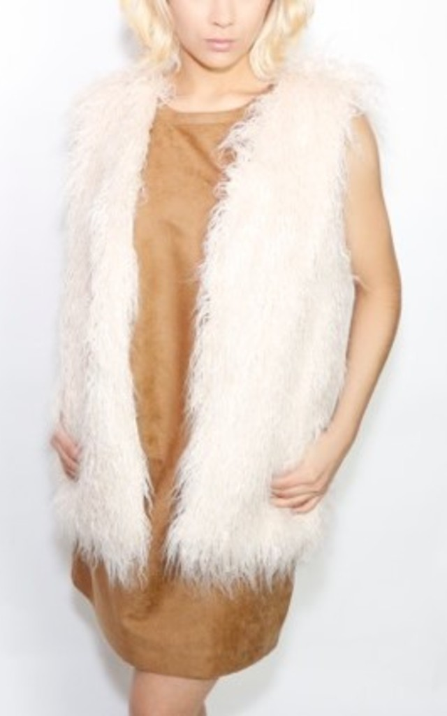 Faux Fur Gilet by Frankies Brand