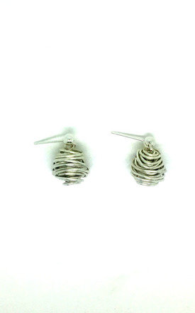 SILVER Wire Earrings by Black and Sigi Limited