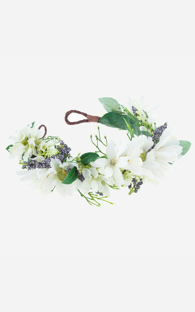 SIENNA Floral Meadow Crown Headband by Rock N Rose
