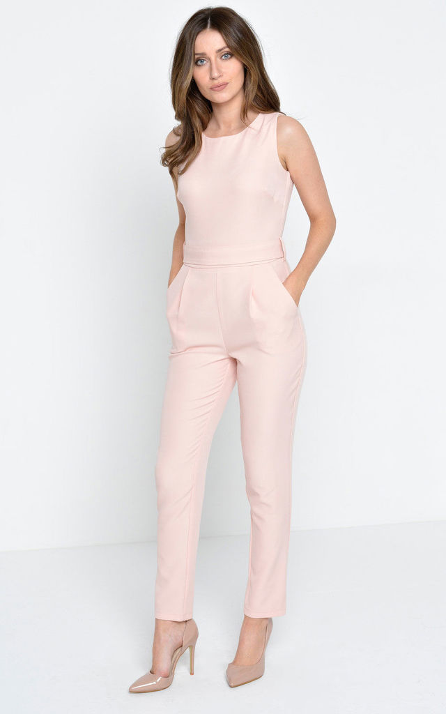 Serenity Jumpsuit in Blush by Marc Angelo