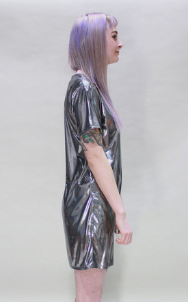 Metallic Silver Dress by Tallulah's Threads