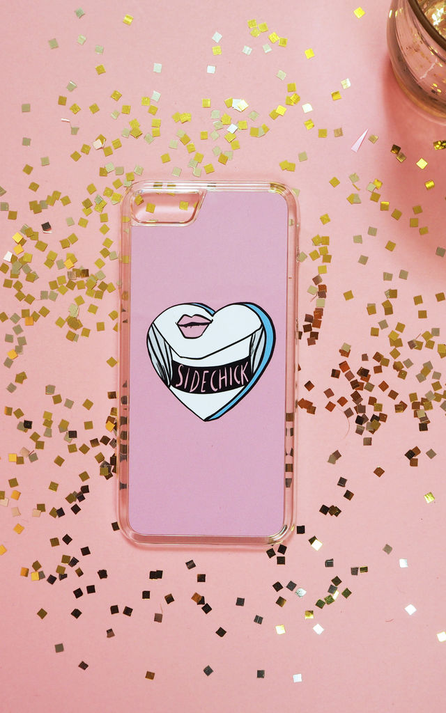 Sidechick Phone Case - Pink by Rock On Ruby