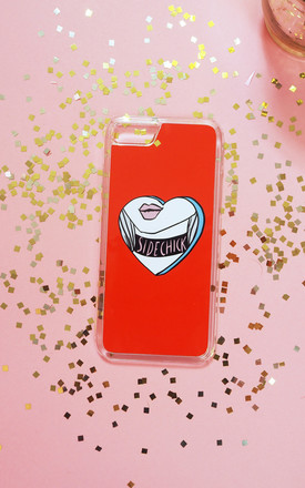 Sidechick Phone Case - Red by Rock On Ruby