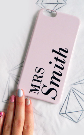 Dusty Pink Style 03 personalised phone case by Rianna Phillips