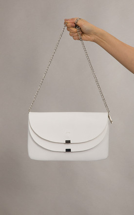 Nicole Clutch Bag In White by KoKo Couture
