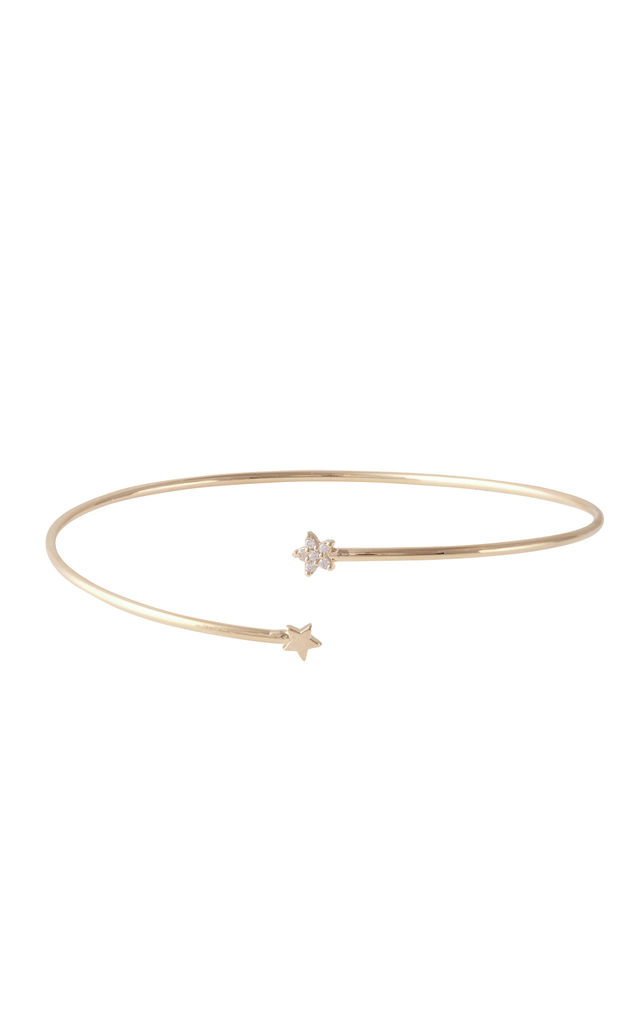Tiny Star Cuff Gold by DOSE of ROSE