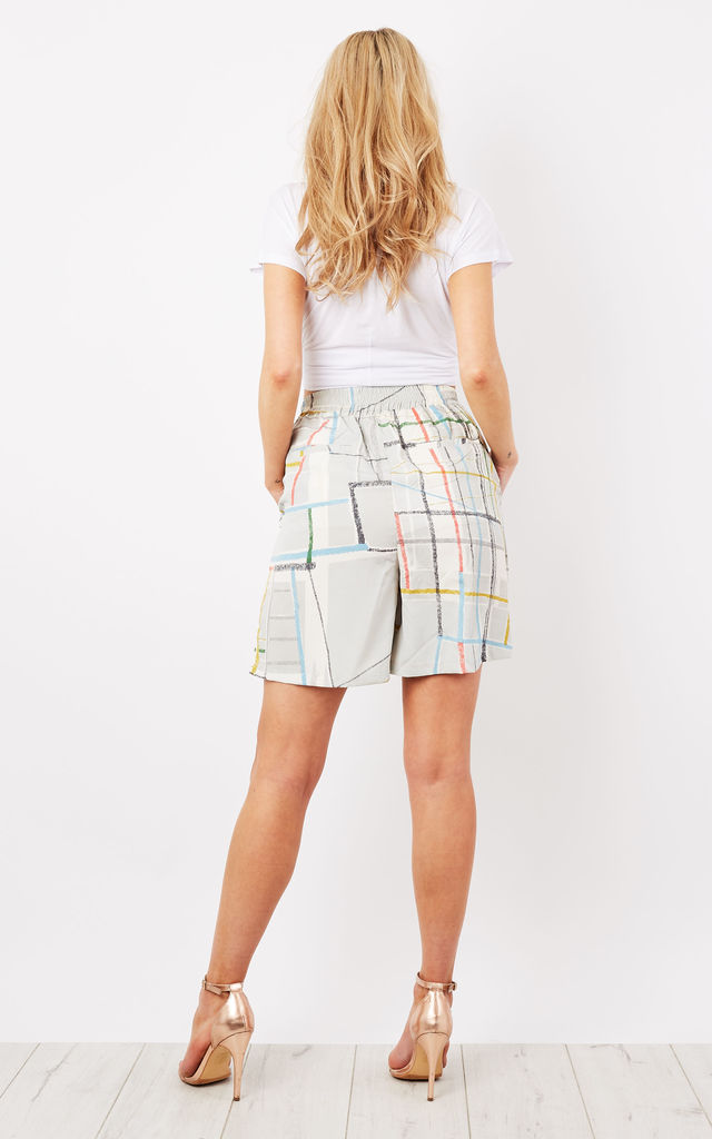 spectrum Print Bermuda Shorts by Native Youth