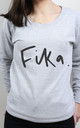 Fika Scoop Neck Sweater by Letter Clothing Company