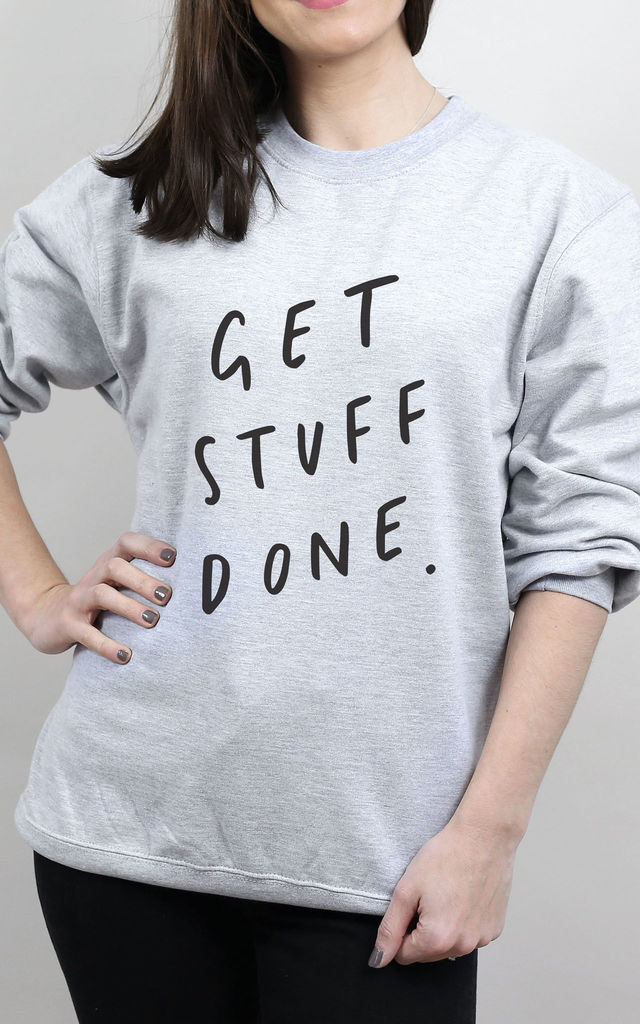 Get Stuff Done Sweater by Letter Clothing Company
