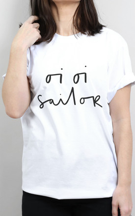 Oi Oi Sailor T-Shirt by Letter Clothing Company
