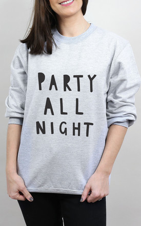Party All Night Sweater by Letter Clothing Company Product photo
