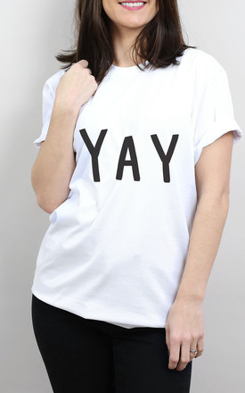 Yay T Shirt by Letter Clothing Company Product photo