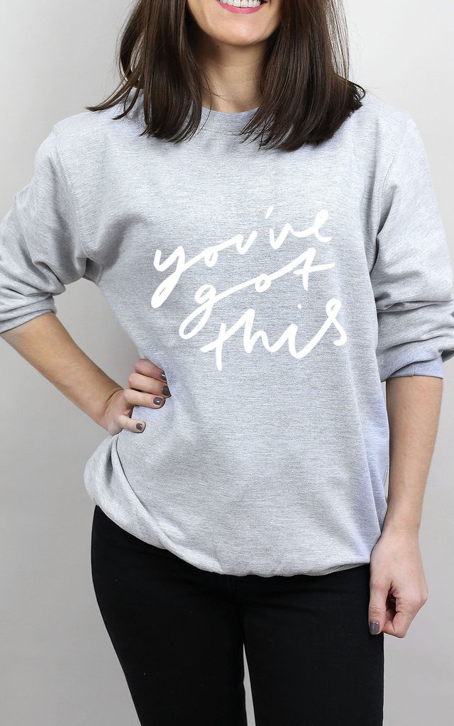 You've Got This Sweater by Letter Clothing Company
