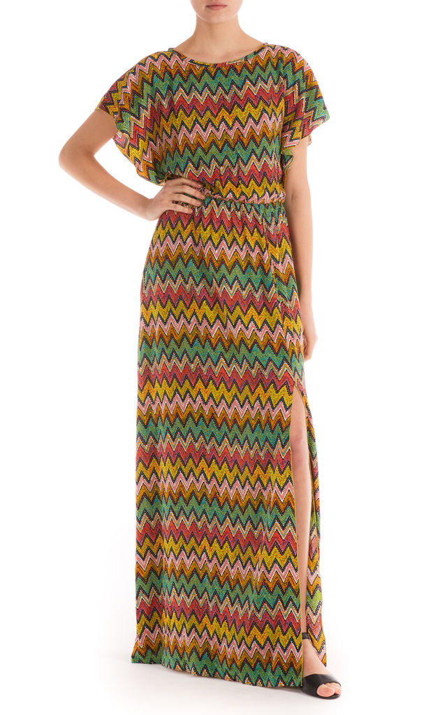 Chevron Bianca Maxi Dress by Ruby Rocks
