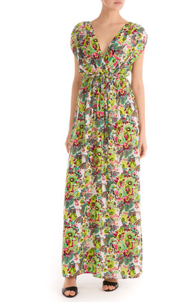 Grecian Grace Maxi Dress Floral by Ruby Rocks