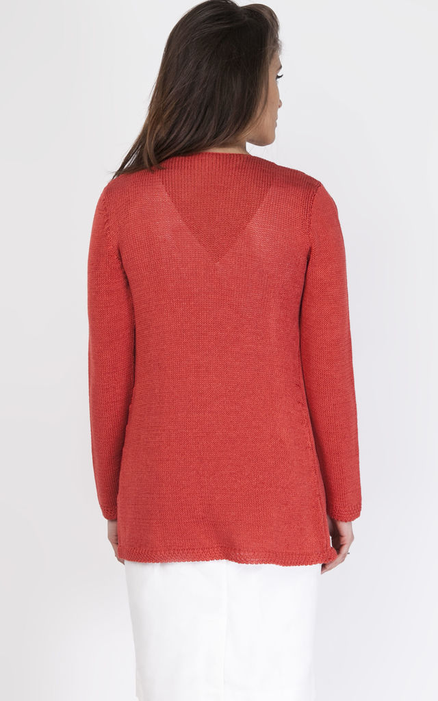 Coral cardigan by MKM Knitwear Design