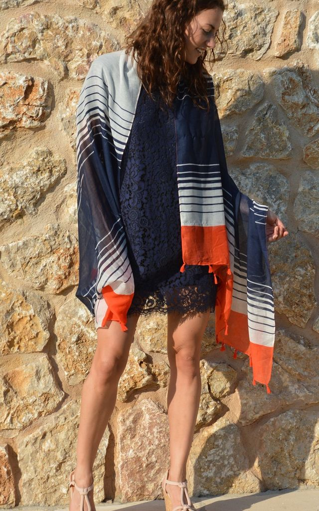Nautical Scarf by BeachHeart