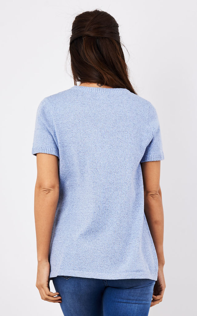 Knitted Smock T-Shirt by Lily and Carter London