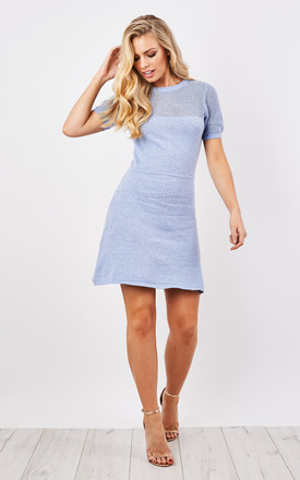 Knitted A-Line Dress by Lily and Carter London