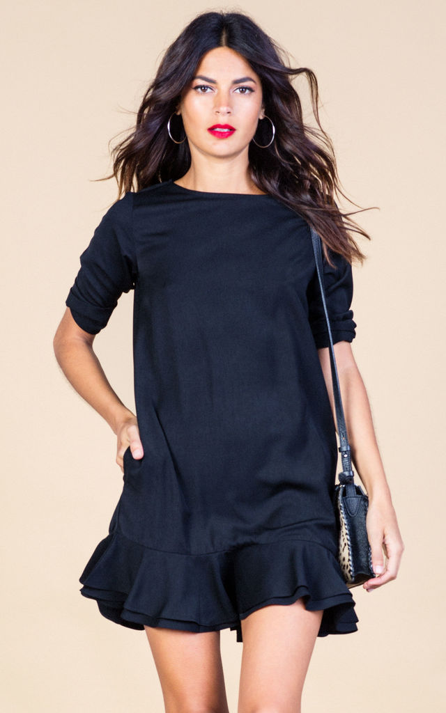 Renee Dress in Black image