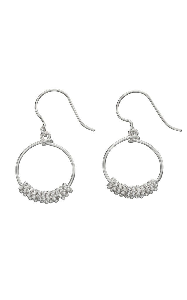 Sterling Silver Drop Earrings by VAVOO