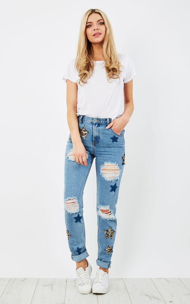 STONE WASH JEANS by Glamorous