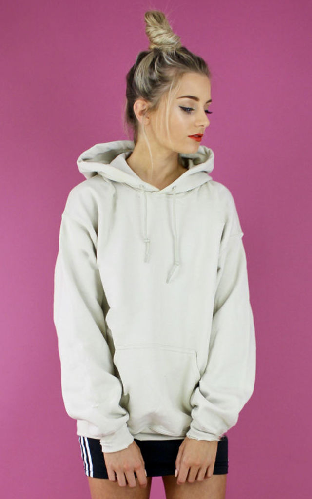 DESERT DREAMS OVERSIZED BOYFRIEND HOODIE- NUDE by Cats got the Cream
