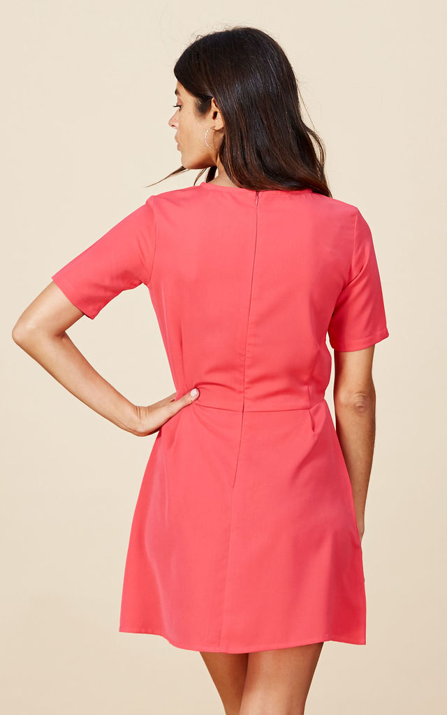 Piper Dress in Coral image