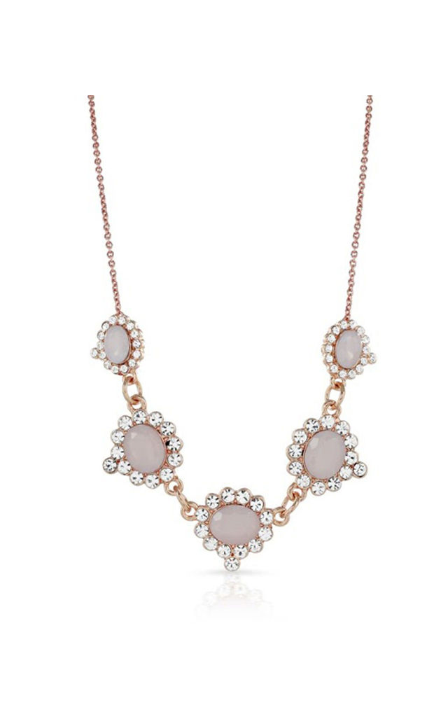 Heather Blush Necklace by Johnny Loves Rosie