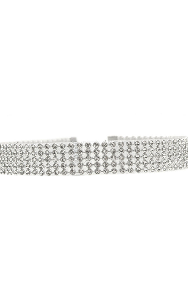 Crystal Sparkle Choker - Thick by AJ | VOYAGE