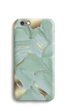 Malachite Phone Case Green by Harper & Blake Product photo
