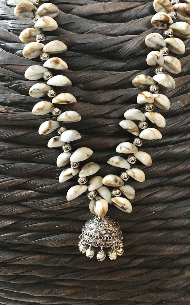 Shell and bell boho necklace by Lovelock jewels
