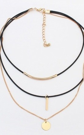 Betsy Layered Choker by Kiki Belle