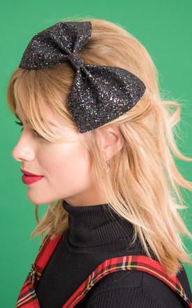 Glitter Hair Bow by Stephanieverafter