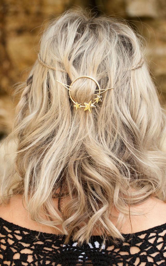 Gold Star Hair Clip by Stephanieverafter