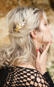 Gold Star Hair Barrette by Stephanieverafter