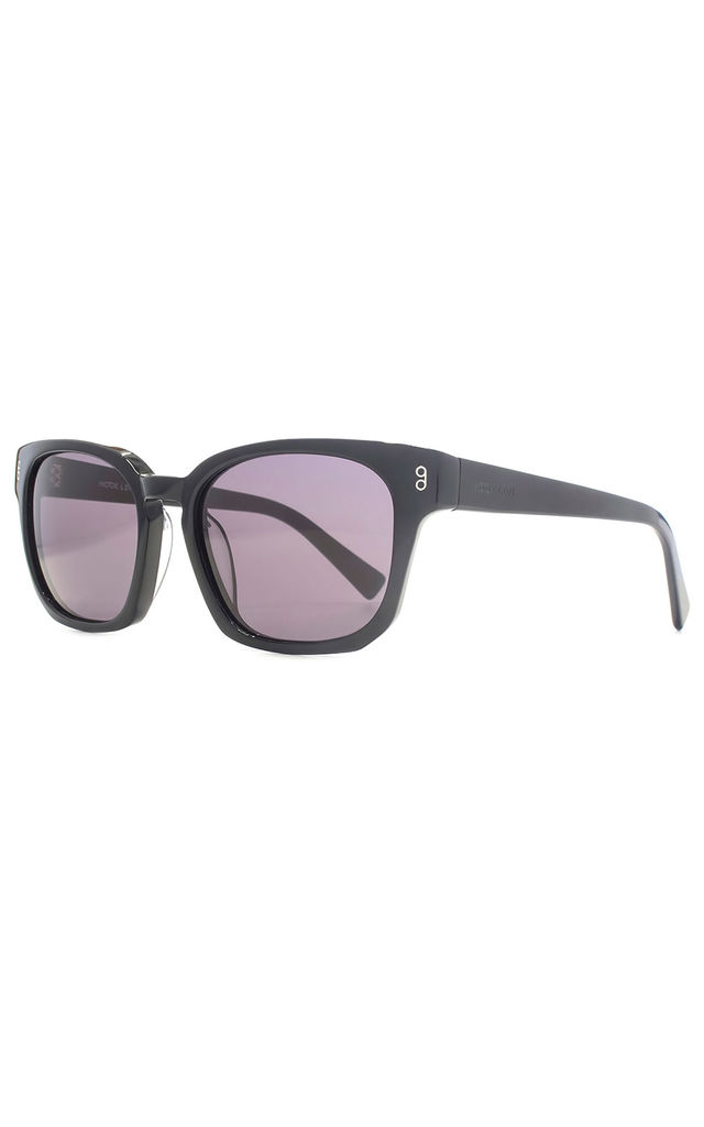 Colston Black Sunglasses by Hook LDN