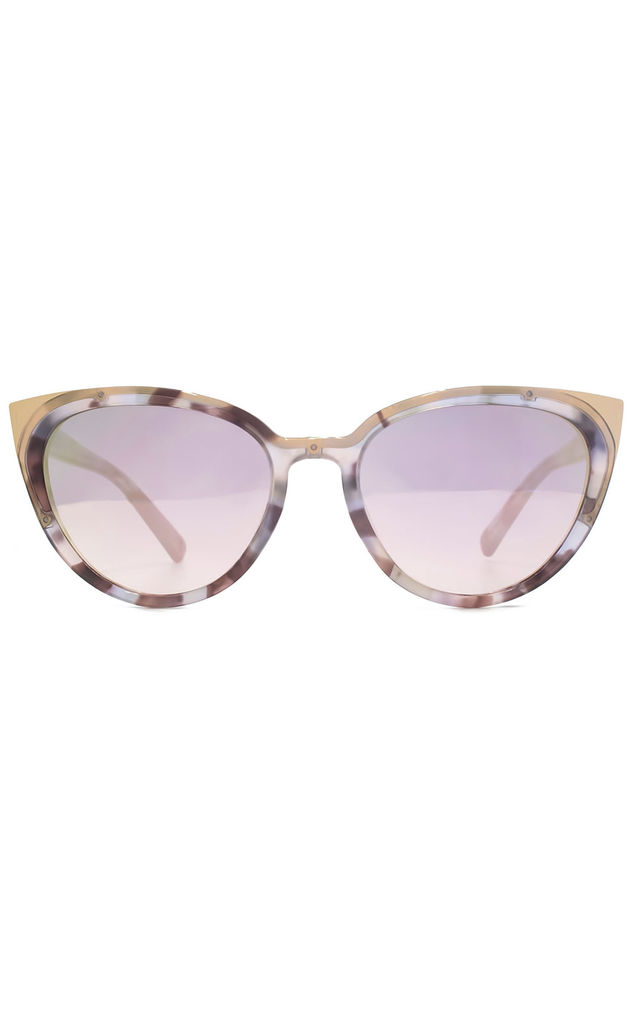 Scala Purple Sunglasses by Hook LDN