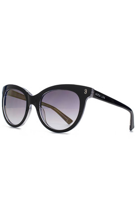 Wander Black Sunglasses by Hook LDN