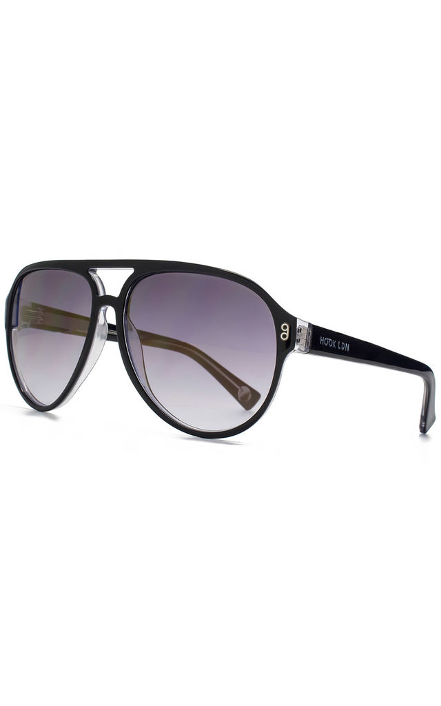 Juke Black Sunglasses by Hook LDN