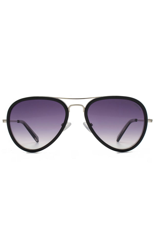 Supersonic Black Sunglasses by Hook LDN