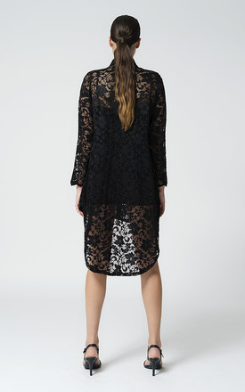 Lace Shirt Dress by EL MONET