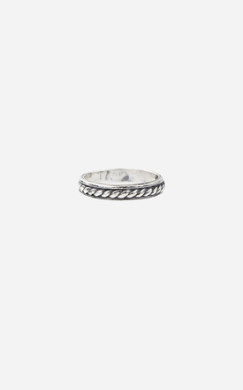 CLEO Sterling Silver Midi Ring by Rock N Rose