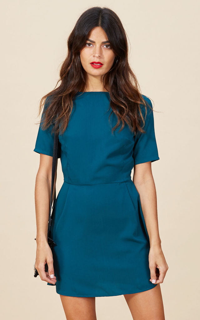 Piper Dress in Pine Green  image