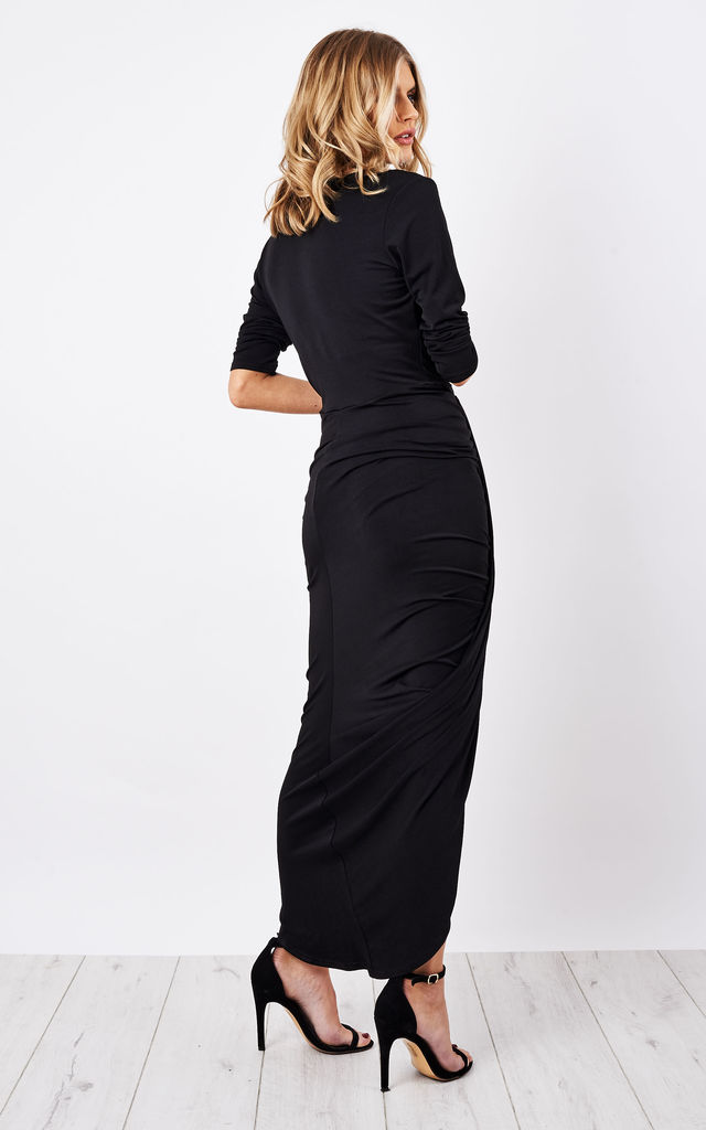 Black Jodie Dress by Never Fully Dressed