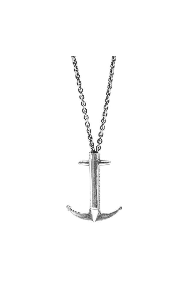 Admiral Silver Anchor Necklace Pendant by ANCHOR & CREW