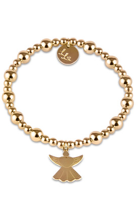 Eliza Gold Guardian Angel by LL Loves UK Jewellery