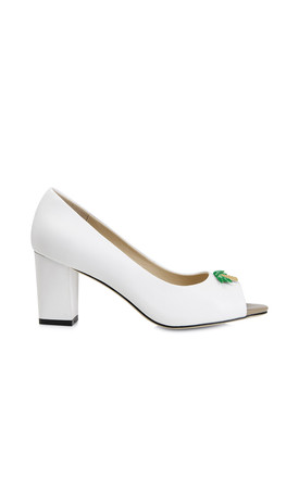 Westbourne White High Heels by Yull Shoes